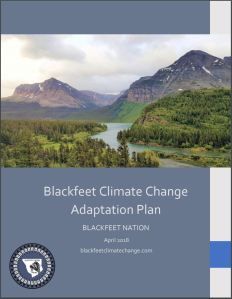 The Blackfeet Climate Change Adaptation Plan – Blackfeet
